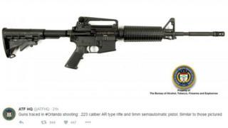 Fuzil AR-15