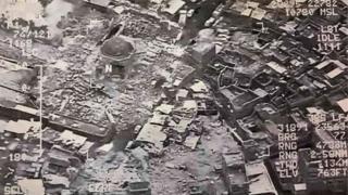 इराक़ी सेना ने परिसर की तस्वीरें जारी की हैं