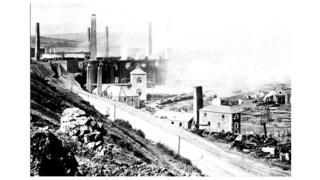 Так виглядало виробництво в 1894 році, Мертир-Тидвіл