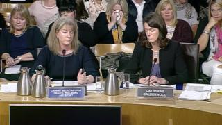 Mesh implants hearing at Scottish parliament
