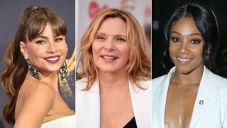 Sofia Vergara, Kim Cattrall and Tiffany Haddish