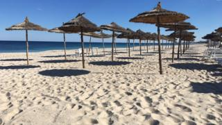 Deserted breach at Sousse