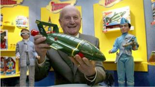 Gerry Anderson pictured in 2005