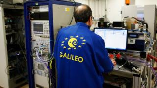 A Galileo scientist working in the Netherlands