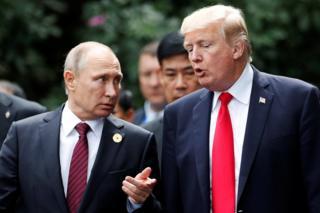 特朗普和普京在APEC有三次相遇。