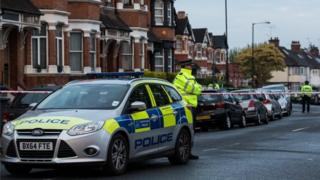 полиция на улицах Лондона