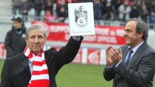 Kopa est le premier Français à soulever le Ballon d'Or européen