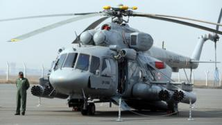 ભારતીય હવાઈ દળમાં Mi-17 V5 પ્રકારના 100થી વધારે હેલિકૉપ્ટર સેવામાં