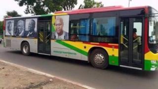 Ghana transport buses