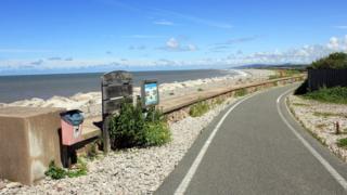 Pensarn beach, Abergele