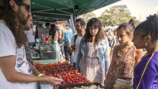 Vegan Fest fair in Ramat Gan, Israel (file photo)