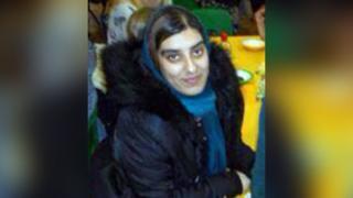 Care worker Saima Khan