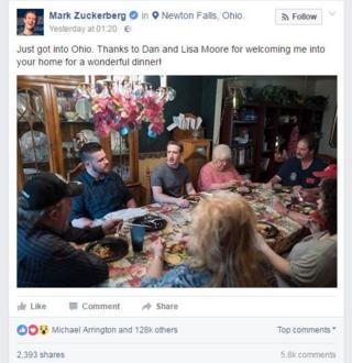 Пост Цукерберга