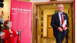 Jeremy Corbyn in Watford