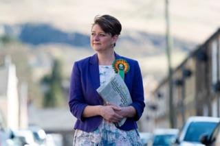 Who is Leanne Wood? A form of a Plaid Cymru leader