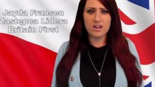 Скриншот видео Britain First