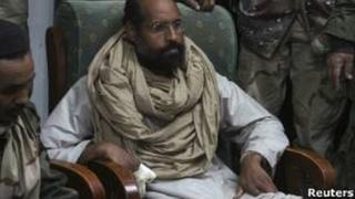 Seif Al-Islam a été condamné à mort pour son rôle dans la répression sanglante de 2011.
