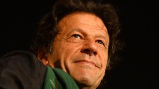 पाकिस्तानी नेता इमरान ख़ान