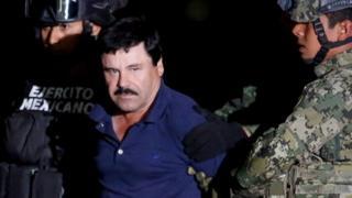 """Синалоа картелинин башчысы """"Эль-Чапо"""" - Гусман АКШга экстрадицияга болордон мурда эки жолу түрмөдө отурду."""