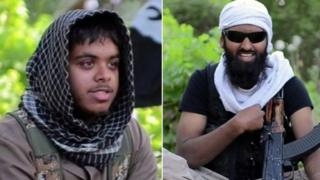 Reyaad Khan, from Cardiff and Ruhul Amin, from Aberdeen travelled to Syria to fight with the so-called Islamic State