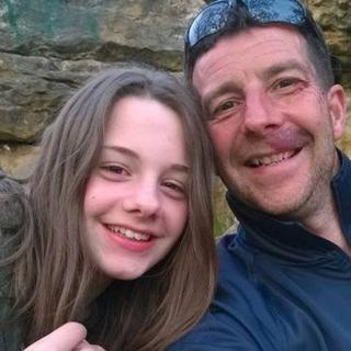 Craig Darwell with his daughter Millie
