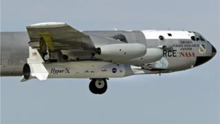 नासा का X-43A हाइपरसोनिक रिसर्च विमान