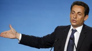 Nicolas Sarkozy yigeze gutwara igihugu c'Ubufaransa