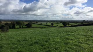 View near Seamus Heaney's former home