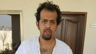 Taha Siddiqui after his escape