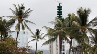 朝鲜试射了该国迄今为止最强大的洲际弹道导弹后,夏威夷拉响防核空袭警报