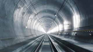 Longest rail tunnel