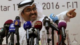 "Qatar""s Energy Minister Mohammad bin Saleh al-Sada"