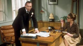 Reginald Perrin and his secretary