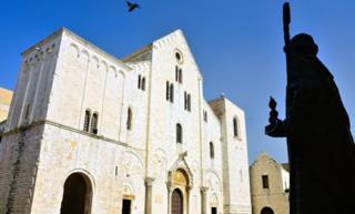 The Basilica di San Nicola in Bari, southern Italy