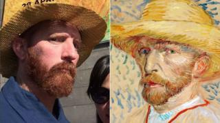 Matt Butterworth y Vincent Van Gogh.