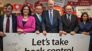 Leave campaign ministers