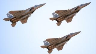 Истребители сил самообороны Японии