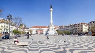 Инквизиция использовала площадь Россиу как место публичных казней