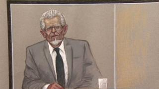 Rolf Harris in court