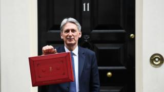 Chancellor Philip Hammond ready to deliver his first Budget