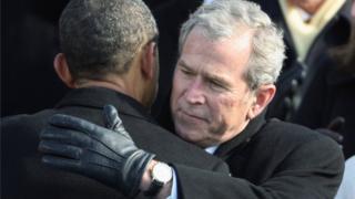 Bush ya gaji Clinton