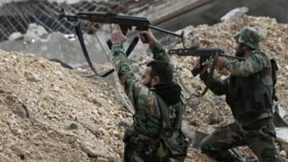 シリア政府軍はすでに、反政府勢力が掌握する地域のうち7割を奪還したとみられている