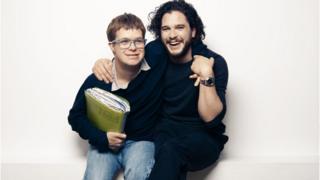 Kit Harington and cousin Laurent