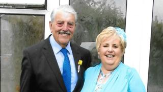 Charles Harris and Janet Whitehead