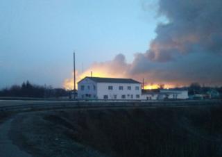 Пожежа почалася близько третьої ночі 23 березня