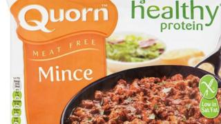 A packet of minced Quorn