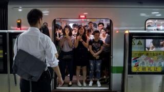 Çin'de metro