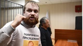 Дмитрий Демушкин в суде