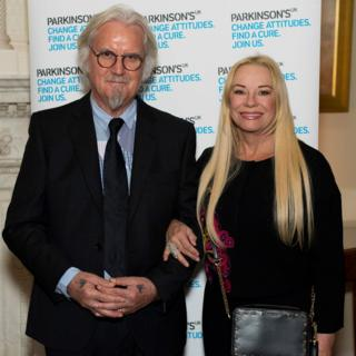 Billy Connolly and his wife Pamela Stephenson