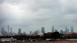 Dogayen gine-gine a birnin Kuwait (A watan Nuwambar 2012)